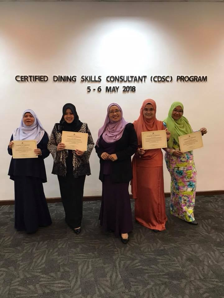 Certified Dining Skills Consultant by ACCEPT