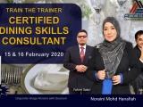 TTT: Certified Dining Skills Consultant (CDSC by ACCEPT)